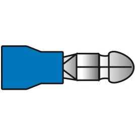 Cosse de câble bleue 4,96 x 20,7 mm 10 pièces CARPOINT