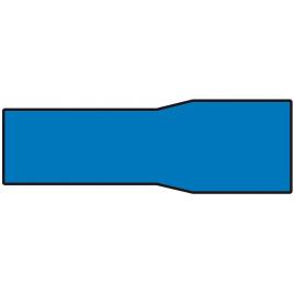 Cosse de câble bleue 4,96 x 25 mm 10 pièces CARPOINT