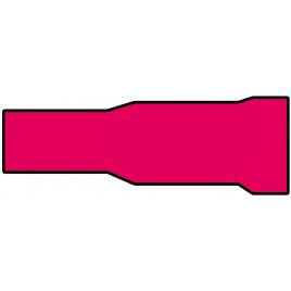 Cosse de câble rouge 3,96 x 24 mm 10 pièces CARPOINT