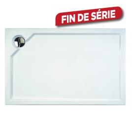 Receveur de douche gauche Kalista rectangle 140 x 90 cm ALLIBERT