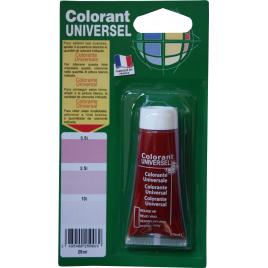 Colorant universel pour peinture Rouge Vif 0,025 L RICHARD