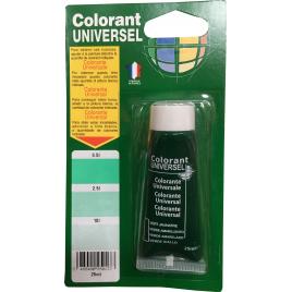 Colorant universel pour peinture Vert Jaunâtre 0,025 L RICHARD