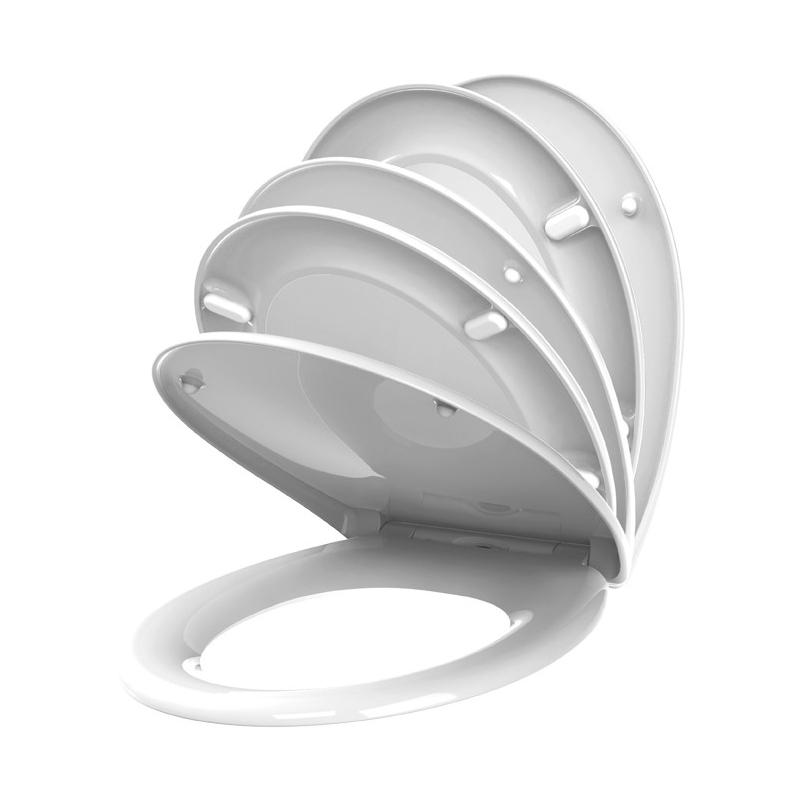 abattant de toilette fally en thermodur blanc allibert. Black Bedroom Furniture Sets. Home Design Ideas