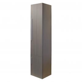 Colonne de salle de bain droite Style Chêne gris 40 x 170 x 35 cm