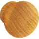 Bouton en chêne Ø 34 mm