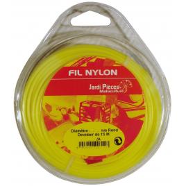Fil rond - 1,3 mm - 15 M