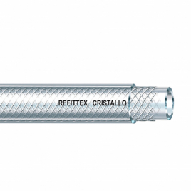 Tuyau Cristallin renforcé Ø 6 x 12 mm 10 m SCALA PLASTICS