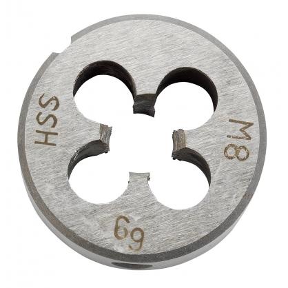 Filière en acier Ø 25 mm M 8 KWB