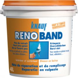 Pâte de réparation et de remplissage Renoband 4 L KNAUF