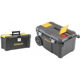 Servante mobile Essential avec boite à outil STANLEY