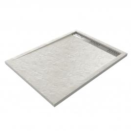 Receveur de douche Pedra rectangle 120 x 90 cm AURLANE