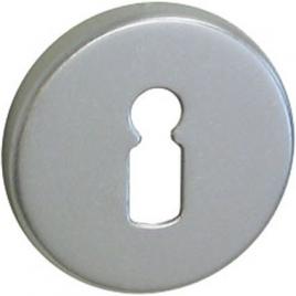 Entrée de clé avec vis invisibles 2 pièces - Argent