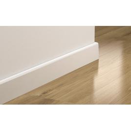 Plinthe droite 240 x 7,7 x 1,4 cm blanc PERGO