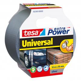 Ruban adhésif Extra Power Universal gris 10 m x 50 mm TESA