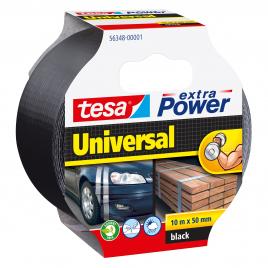 Ruban adhésif Extra Power Universal noir 10 m x 50 mmTESA