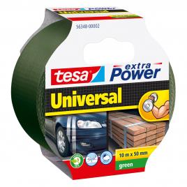 Ruban adhésif Extra Power Universal vert 10 m x 50 mm TESA
