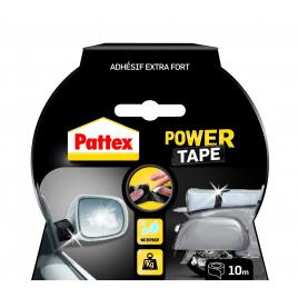 Adhésif de réparation Power Tape noir 10 m x 50 mm PATTEX