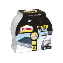 Adhésif de réparation Power Tape transparent 10 m x 50 mm PATTEX