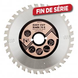 Lame de scie circulaire universelle Easy Cut Ø 190 x 16 mm 30 dents KWB