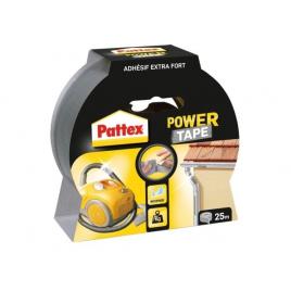 Adhésif de réparation Power Tape Argent 25 m x 50 mm PATTEX