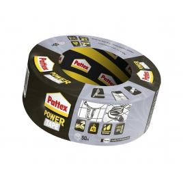 Adhésif de réparation Power Tape Argent 50 m x 50 mm PATTEX