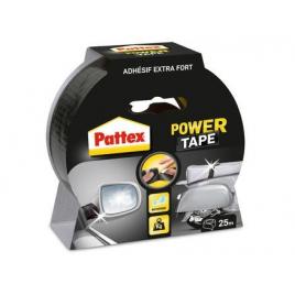 Adhésif de réparation Power Tape noir 25 m x 50 mm PATTEX