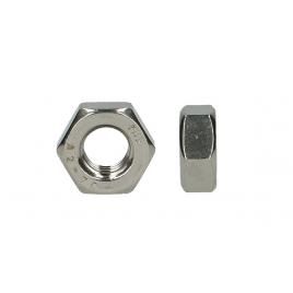 Ecrou hexagonal en inox M 4