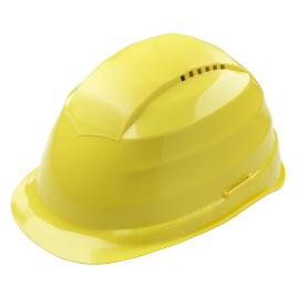 Casque de chantier jaune WOLFCRAFT
