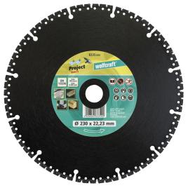 Disque diamant Pro Multi Ø 230 x 22,2 mm WOLFCRAFT