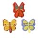 Crochet adhésif Papillon