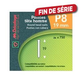 Pointe p8 19 mm MR BRICOLAGE