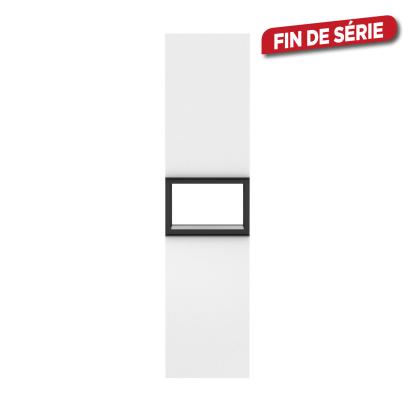 Colonne de salle de bain Fabrika blanche brillante 35 x 143 x 35 cm ALLIBERT