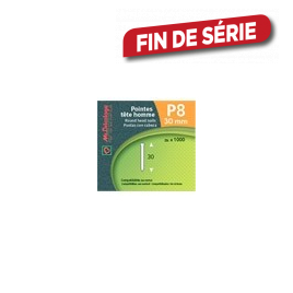 Pointe p8 30 mm MR BRICOLAGE