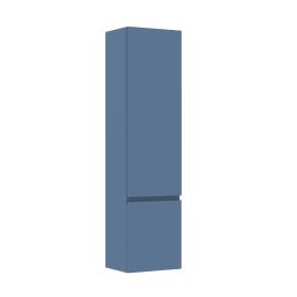 Colonne de salle de bain Verso bleue mate 40 x 30,5 x 156 cm ALLIBERT