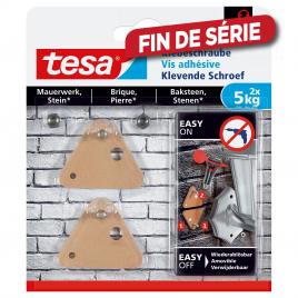 Vis adhésive triangulaire pour brique et pierre 5 kg TESA