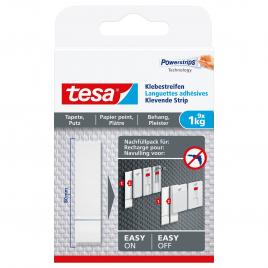 Languette adhésive pour papier peint et plâtre 1 kg TESA