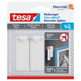 Clou adhésif pour papier peint et plâtre 1 kg TESA