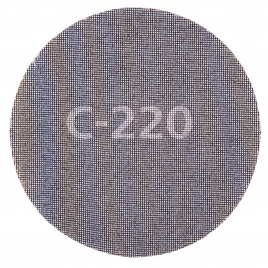 Disque abrasif auto-agrippant en carbure de silicium grain 220 Ø 225 mm 5 pièces WOLFCRAFT