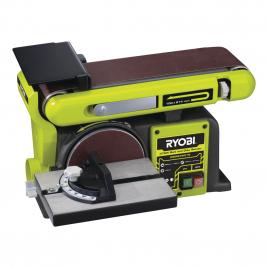 Ponceuse stationnaire électrique à bande et à disque 370 W RYOBI