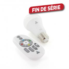Ampoule LED multicolore connectée E27 9 W 806 lm