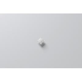 Rosace décorative en polyuréthane rigide haute densité - 100X100mm réf. M50