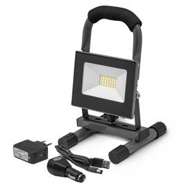 Projecteur LED rechargeable 10 W 4,4 Ah I-WATTS