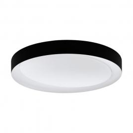 Plafonnier Laurito Ø 49 cm LED 24 W noir EGLO