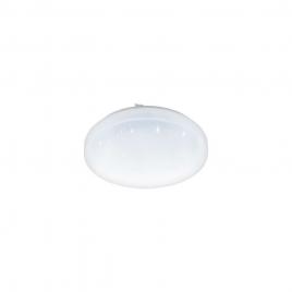 Plafonnier Frania-S LED Ø 28 cm 11,5 W 1350 lm blanc cristallin EGLO