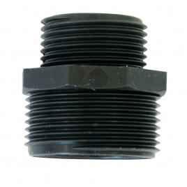 Réduction en plastique M/M 33/42 mm SPID'O