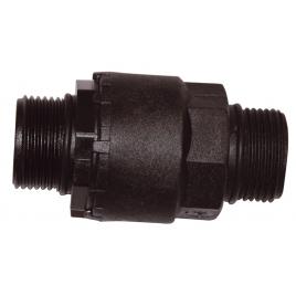Clapet anti-retour en plastique MM 26/34 mm SPID'O