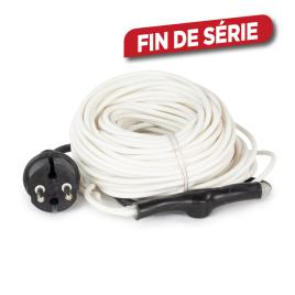 Câble chauffant antigel avec thermostat 24 m 240 W PEREL