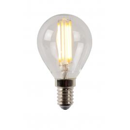 Ampoule à filament LED E14 4 W Ø 4,5 cm dimmable transparente LUCIDE