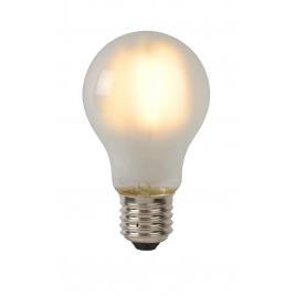 Ampoule à filament LED E27 5 W Ø 6 cm dimmable mate LUCIDE
