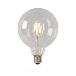 Ampoule à filament LED E27 5 W Ø 12,5 cm dimmable transparente LUCIDE